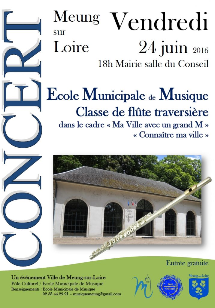 Affiche Flute 24 juin